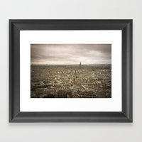 Paris - Montmartre Framed Art Print