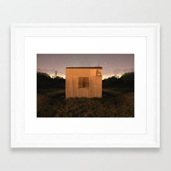 Dream Shack Framed Art Print