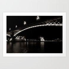 Margaret Bridge III. Art Print
