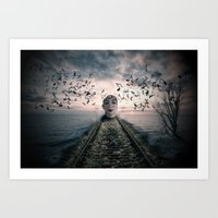 Musical Thoughts Art Print