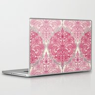 Laptop & iPad Skin featuring Happy Place Doodle In Be… by Micklyn