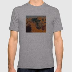 Wall Mens Fitted Tee Athletic Grey SMALL
