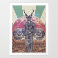 UNIVERSOS PARALELOS 002 Art Print