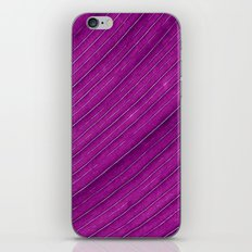 purple banana leaf iPhone & iPod Skin