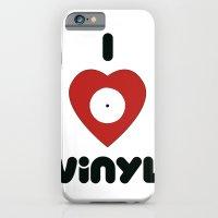 I Heart Vinyl iPhone 6 Slim Case