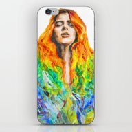 iPhone & iPod Skin featuring Sophie by Amandine