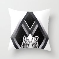 Diamante Throw Pillow