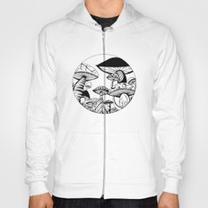 Mushroom Art Hand drawn design Hoody