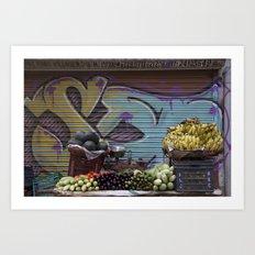 Graffiti Stand Art Print