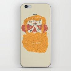 Der Bart iPhone & iPod Skin