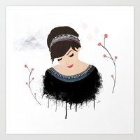 ONE SWEET GIRL Art Print