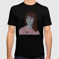 Sylvia Likens  Mens Fitted Tee Black SMALL