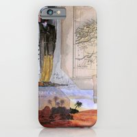 KIT AND PORT (THE SHELTERING SKY) iPhone 6 Slim Case