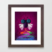 Moscadelica Framed Art Print
