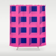 Third Dimension Shower Curtain