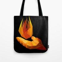 Pyrokinesis Tote Bag
