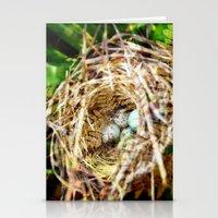 Birds :: Our Nest Stationery Cards