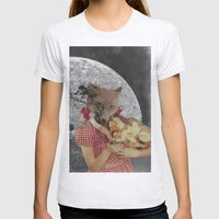 Counting chickens Womens Fitted Tee Ash Grey SMALL