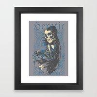 Heretic Death Framed Art Print