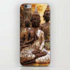 the 4 Buddhas iPhone & iPod Skin