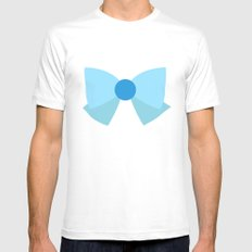 Sailor Mercury Bow Mens Fitted Tee White SMALL