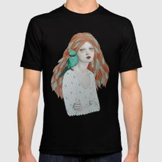 Ava SMALL Black Mens Fitted Tee