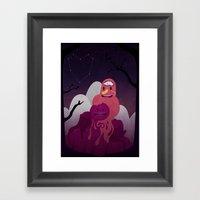 Earth Under The Heavens Framed Art Print