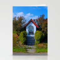 Wayside Shrine In Summer… Stationery Cards