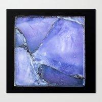 Purple Glass Canvas Print