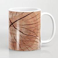Oak Wood Grain Mug