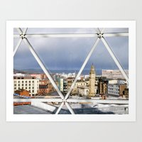 Belfast - Northern Irela… Art Print