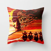 Jax Teller SOA Throw Pillow
