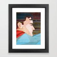 ALL-STAR Framed Art Print