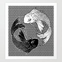 Yin &Yang Art Print