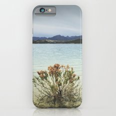Storm at the mountains. Bermejales lake. Retro Slim Case iPhone 6s