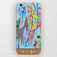 Artistic Kitten  iPhone & iPod Skin