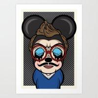 Mickey Boy Art Print
