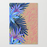 A Run Through the Jungle Blues Canvas Print
