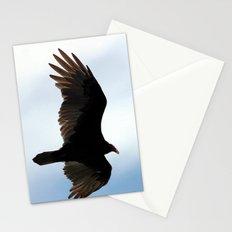 Turkey Vulture in Flight Stationery Cards