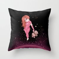 dearspace Throw Pillow