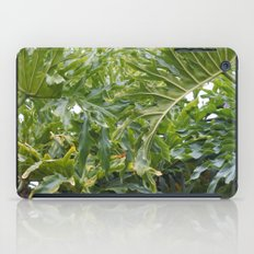 Tropical Greens iPad Case