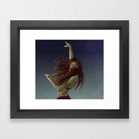Illusive Dancer Framed Art Print