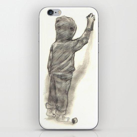 Catchin' tags two iPhone & iPod Skin