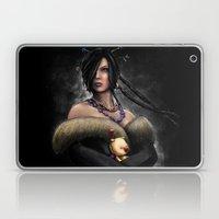 Final Fantasy X Lulu Painting Portrait Laptop & iPad Skin