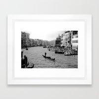 Grand Canal, Venice Framed Art Print