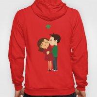 Christmas Kisses Hoody
