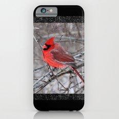 The Snow Cardinal Slim Case iPhone 6s