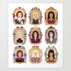SFC Collection Art Print