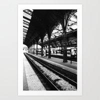 Station Copenhagen Art Print