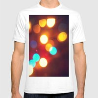 All of the lights Mens Fitted Tee White SMALL